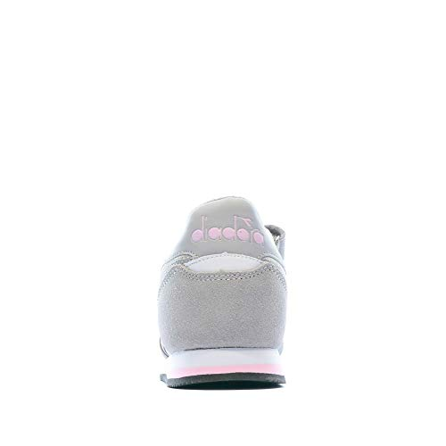 Diadora Simple Run PS, Scarpe da Ginnastica Bambina, Grey