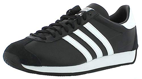 Scarpa Adidas Originals Country Og Uomo Sneakers Pelle Nero