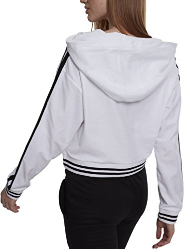 Urban Classics Ladies Interlock Short Hoody Felpa Donna