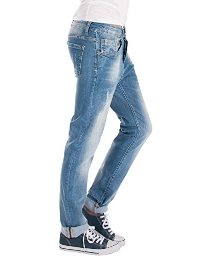Fraternel Jeans Donna Boyfriend Baggy
