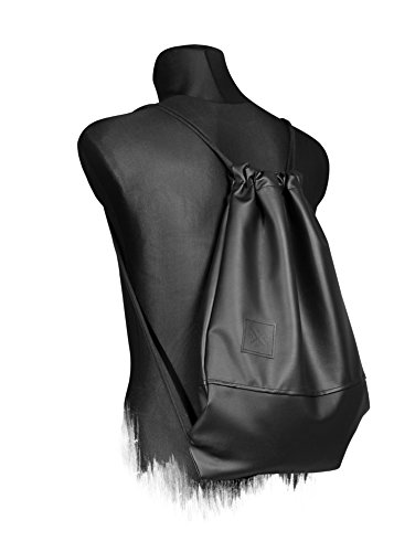 Black Out Sports Bag Zaino in pelle artificiale Gym Bag