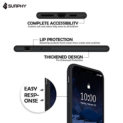 SURPHY Cover iPhone 11 PRO Custodia iPhone 11 PRO Silicone