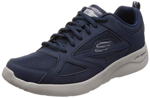 Skechers Men's Dynamight 2.0 fallford Trainers, Blue (Navy