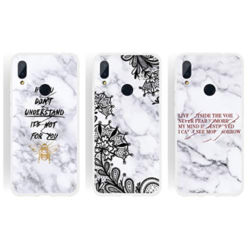 CUSTODIA COVER MORBIDA IN TPU SILICONE PER XIAOMI REDMI NOTE 8 PRO FANTASIA M3