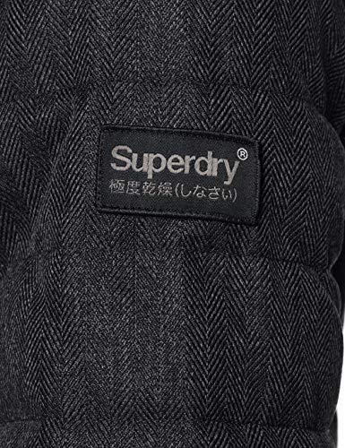 Superdry Hooded Double Zip Tweed Fuji Giacca Sportiva Uomo