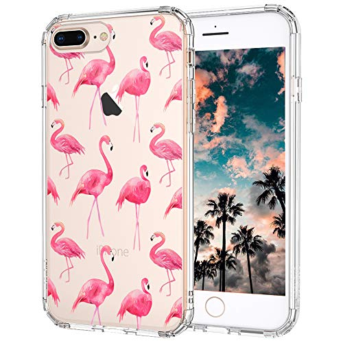 MOSNOVO Cover iPhone 8 Plus, Cover iPhone 7 Plus, Tropicale ...