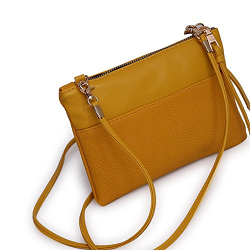 Homebaby® Borsa Pelle Donna Piccolo Mini Crossbody Borsa