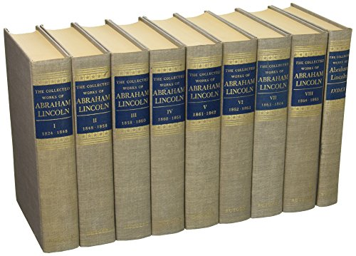 Download The Collected Works of Abraham Lincoln. 9 Volume Set B001Q3AVUE