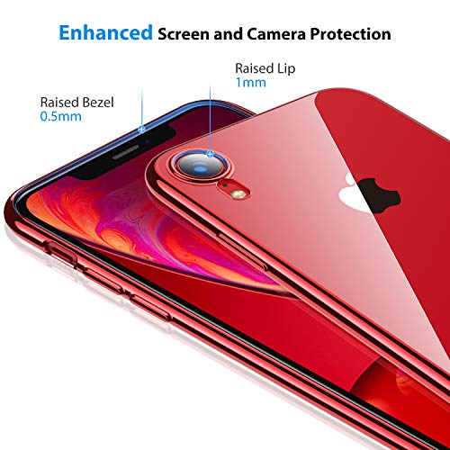 RANVOO Custodia iPhone XR Trasparente Custodia Slim per iPhone XR