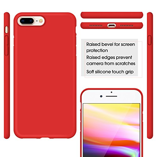 Cover iPhone 8 PlusCover iPhone 7 PlusHumixx Flessibile Gel