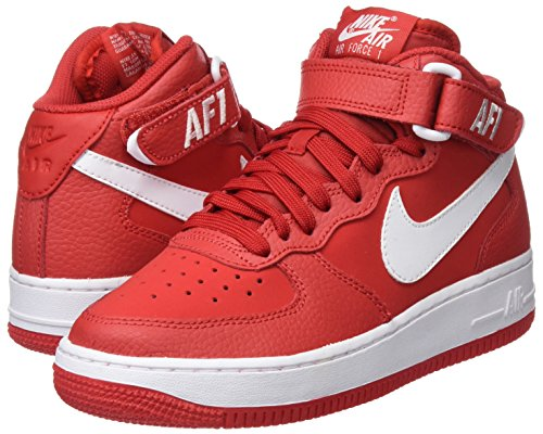 Nike Air Force 1 Mid (GS), Scarpe da Basket Bambino