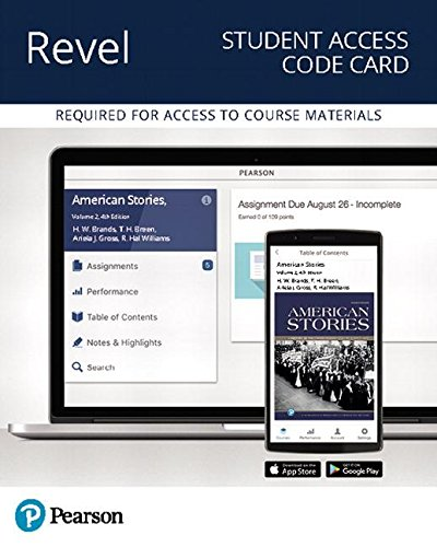 Download Revel for American Stories Access Card: A History of the United States: 2 0134739965