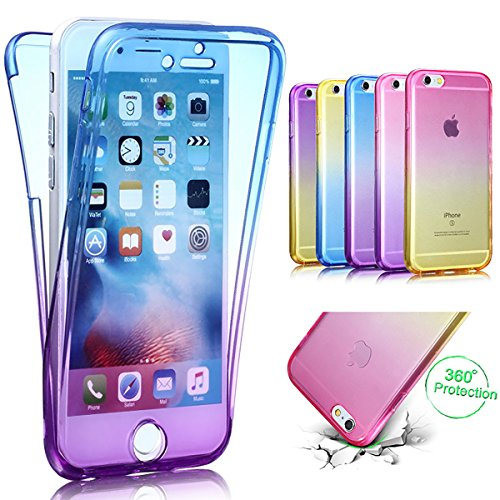 Custodia iPhone 6S Cover iPhone 6 Cover morbido Trasparente