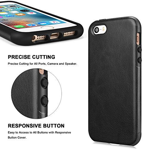 custodia pelle iphone se