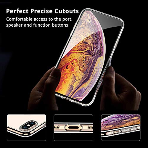 UNBREAKcable Cover iPhone XS Max Custodia iPhone XS Max [Supporta