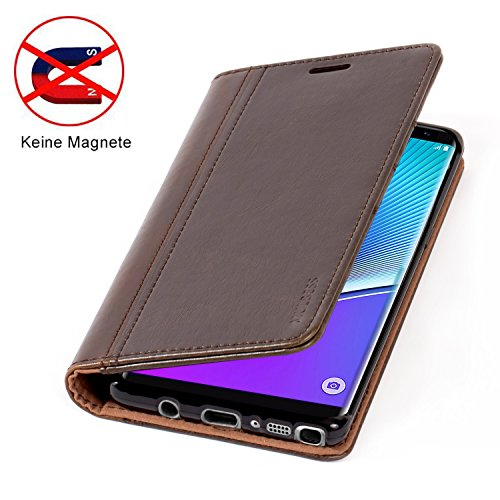 samsung note 8 custodia pelle