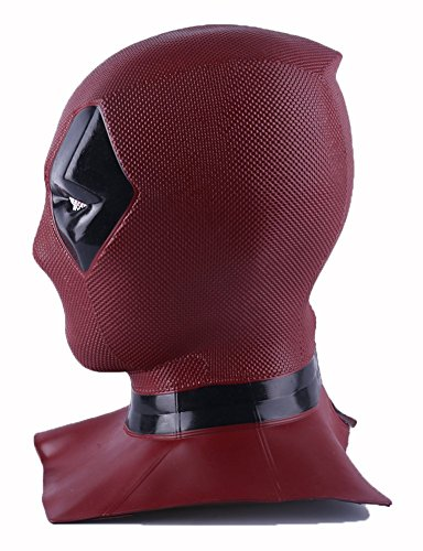YK Film Deadpool Morto Parrucche Maschera Cosplay Halloween Cos Casco Morto Cosplay Maschera Puntelli Maschera Testa Deadpool