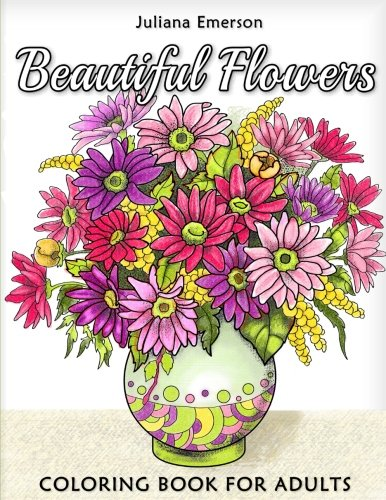Download Beautiful Flowers Coloring Book for Adults 1978188730