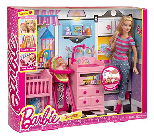 Barbie CKN71 - I Can Be Playset Grande Baby Sitter